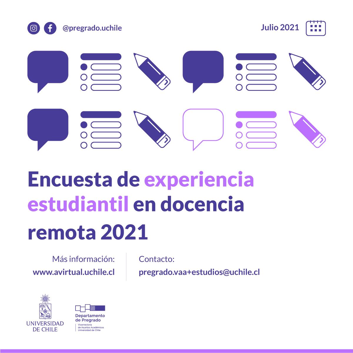 Encuesta de experiencia estudiantil 2021